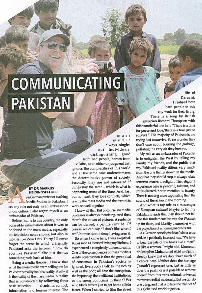Communicating Pakistan Dawn